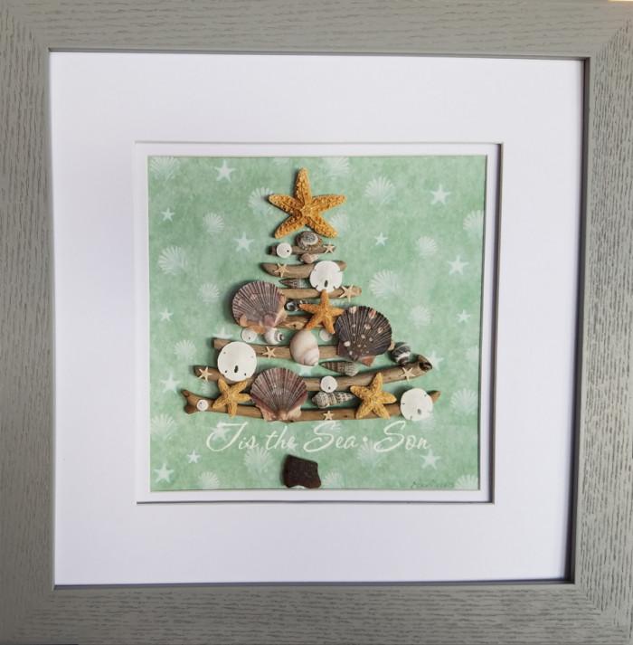 Christmas Tree of Shells