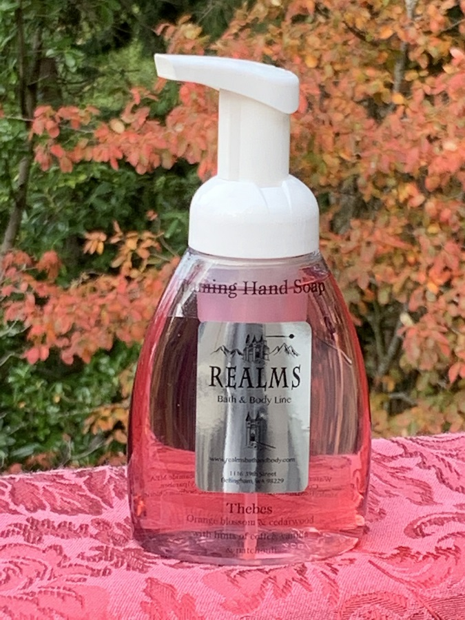 Thebes foaming hand soap