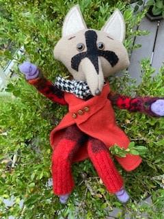 Wool doll Teak Sweetwood