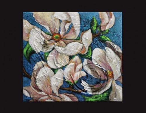 Magnolia Flower Painting